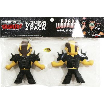 WWERoadWarriors(ロード・ウォリアーズ)MicroBrawlerミニフィギュア