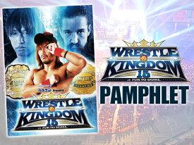 新日本プロレス NJPW WRESTLE KINGDOM 15 パンフレット