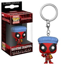 Marvel(マーベル) Deadpool(デッドプール) BathtimeFUNKO/ファンコ POCKET POP! ボブルヘッド・キーチェーン