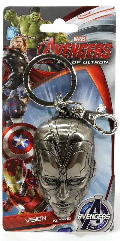 Marvel(マーベル) Avengers: Age of Ultron(アベンジャーズ2/エイジ・オブ・ウルトロン) Vision(ヴィジョン) メタルキーホルダー VillainUltron