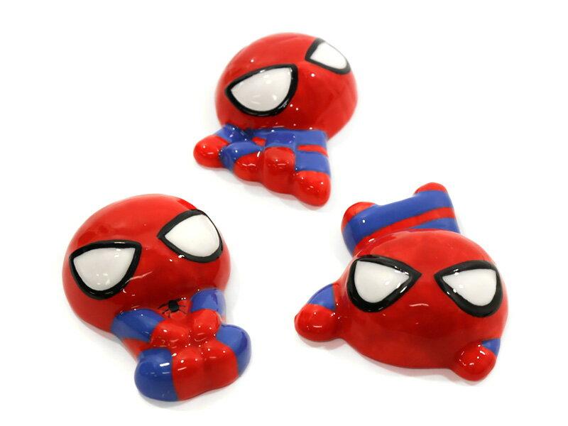 Marvel(マーベル) Spider-Man(スパイダーマン) 磁器製箸置き3個セット