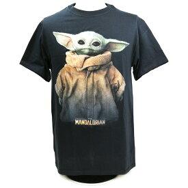 Star Wars:The Mandalorian(スター・ウォーズ:マンダロリアン) ザ・チャイルド FULL SIZE ブラックTシャツ