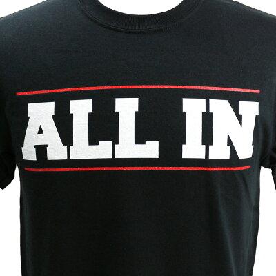 ALLINブラックTシャツ