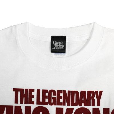 【XXLサイズ】新日本プロレスNJPWブルーザー・ブロディ/レジェンダリー・キンクコング(ホワイト)TシャツHardcoreChocolate/ハードコアチョコレート