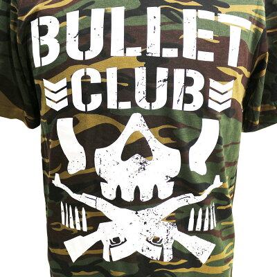 【US版】新日本プロレスNJPWBULLETCLUB(バレット・クラブ)CamoブラックTシャツ