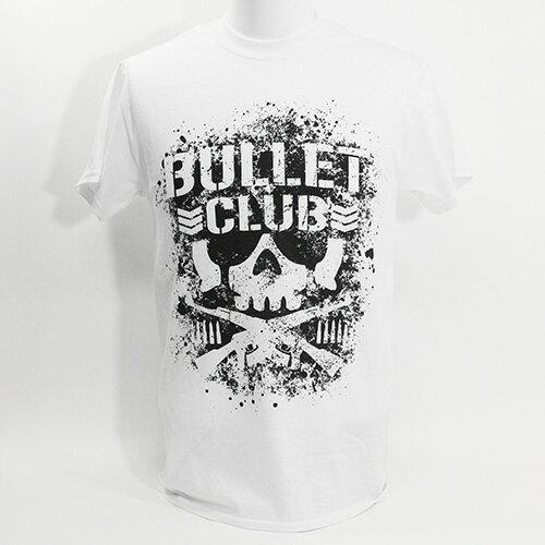 【US版】新日本プロレス/NJPW BULLET CLUB(バレット・クラブ) ホワイトTシャツ