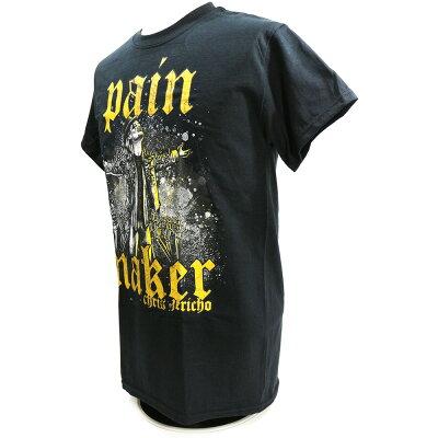 【US版】新日本プロレスNJPWChrisJericho(クリス・ジェリコ)PainmakerブラックTシャツ