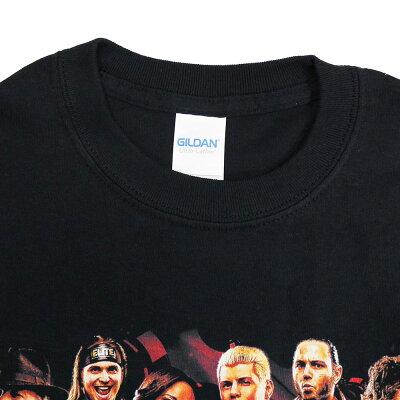 AEWDoubleorNothingFullTalentブラックTシャツ