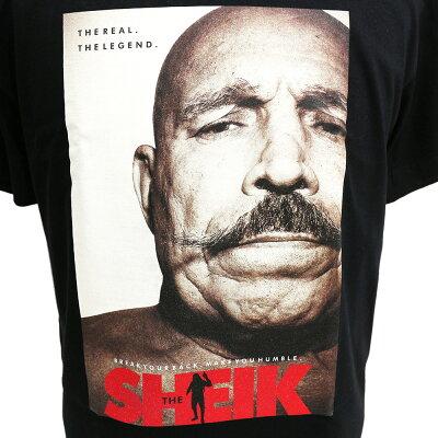 LegendsTWOPLATOONS×アイアン・シークコラボレーションブラックTシャツ