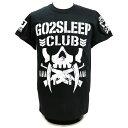 【XXLサイズ/US版】新日本プロレス NJPW BULLET CLUB(バレット・クラブ) KENTA Go2Sleep Club ブラックTシャツ