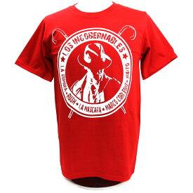 【XXLサイズ】新日本プロレス NJPW 内藤哲也 ロス・インゴベルナブレス レッドTシャツ