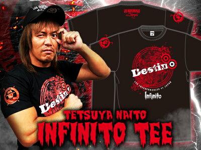 新日本プロレスNJPW内藤哲也「INFINITO」Tシャツ