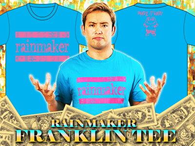 新日本プロレスNJPWオカダ・カズチカ「フランクリン」Tシャツ