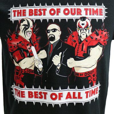 WWERoadWarriors(ロード・ウォリアーズ)TheBestOfAllTimeブラックTシャツ