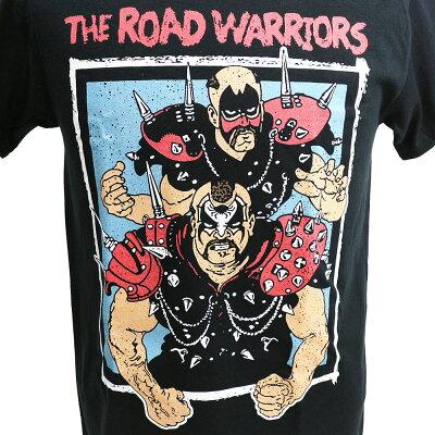 WWERoadWarriors(ロード・ウォリアーズ)ChampionshipWrestlingTシャツ【あす楽対応】【あす楽_土曜営業】【あす楽_日曜営業】【楽ギフ_包装】