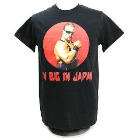 【XXLサイズ】Legends Scott Norton(スコット・ノートン) Big In Japan ブラックTシャツ