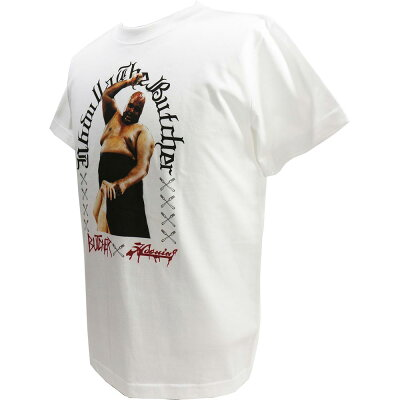HaomingAbdullahTheButcher(アブドーラ・ザ・ブッチャー)×HMGホワイトTシャツ
