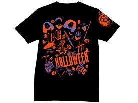 [クリアランスセール] 【メール便対応】新日本プロレス NJPW BULLET CLUB(バレット・クラブ) ハロウィーン イラスト Tシャツ