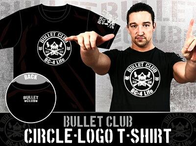新日本プロレスNJPWBULLETCLUB(バレット・クラブ)サークルロゴTシャツ