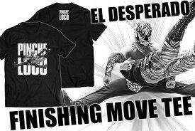 【メール便対応】新日本プロレス NJPW エル・デスペラード FINISHING MOVE Tシャツ