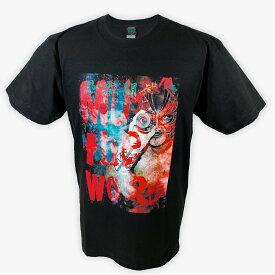 【メール便対応】【XXLサイズ】プロレスリング・ノア グレート・ムタ MUTA the WORLD Tシャツ