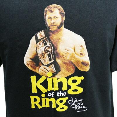 WWEHarleyRace(ハーリー・レイス)KingoftheRingブラックTシャツ