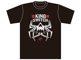 【メール便対応】新日本プロレス NJPW ジェイ・ホワイト「KING SWITCH BC」Tシャツ
