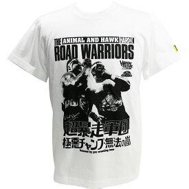 【メール便対応】ロード・ウォリアーズ (超暴走軍団ホワイト) Tシャツ Hardcore Chocolate/ハードコアチョコレート
