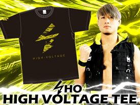 【メール便対応】新日本プロレス NJPW SHO HIGH VOLTAGE Tシャツ