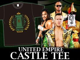 【メール便対応】新日本プロレス NJPW UNITED EMPIRE CASTLE Tシャツ