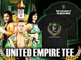 【メール便対応】新日本プロレス NJPW UNITED EMPIRE Tシャツ
