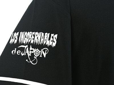 新日本プロレス/NJPW内藤哲也ロス・インゴベルナブレス・デ・ハポンL・I・Jベースボールシャツ(4thmodel)