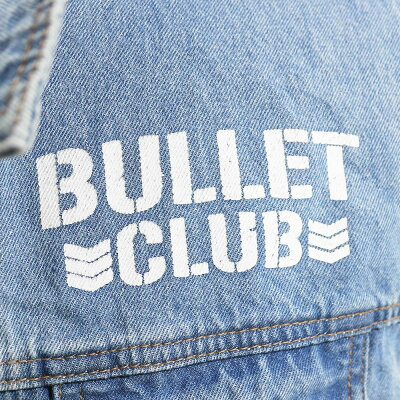 新日本プロレスNJPWBulletClub(バレット・クラブ)デニムベスト