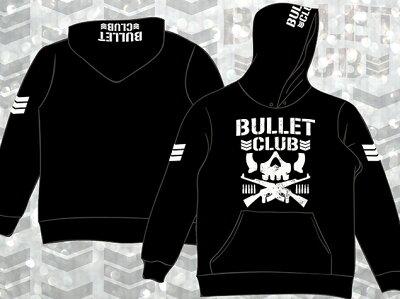 新日本プロレス/NJPWBULLETCLUB(バレット・クラブ)プルオーバーパーカー