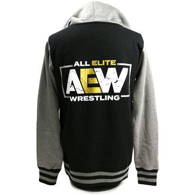 AEWLogoPremiumバーシティジャケット