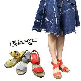 【SALE】【セール】【半額】【50%OFF】【別注】CALZANOR(カルザノール)エスパドリーユ スエード レザー サンダル 靴 レディース スペイン生まれの快適でおしゃれな夏の大人気おすすめサンダル