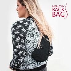 HealthyBackbag(ヘルシーバックバッグ)6100LGバッグショルダーバッグミニバッグポーチウエストポーチ無地レディースユニセックスメンズデイリーミニショルダーバッグ