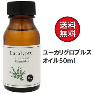 天然100% ユーカリ グロブルス オイル 50ml アロマオイル ユーカリプタス エッセンシャルオイル 精油 ダニ対策や虫よけにも