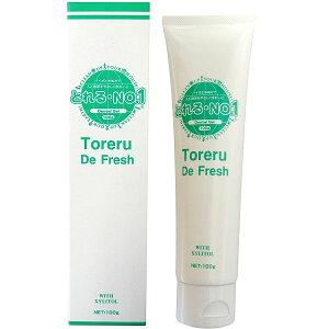とれる No.1 トレルデフレッシュ 歯磨きジェル 100g 米ぬか発酵エキス 歯磨き粉