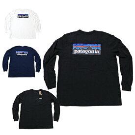 パタゴニア ロンT ロングTシャツ 長袖Tシャツ メンズ P-6ロゴ ロングスリーブ レスポンシビリティー Tシャツ patagonia P-6 Logo Long sleeve Responsibili T-Shirt 半袖Tシャツ P6ロゴ ■品番 39161