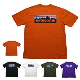 パタゴニア Tシャツ 定番 patagonia P-6 Logo Organic T-Shirt オーガニックコットン 半袖Tシャツ 2021年春夏モデル P6ロゴ ■品番 38535