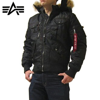 Alpha ALPHA ALPHA INDUSTRIES Alpha industries DEFLECTOR JKT deflector Flight Jacket by Alpha Flight jacket [fs01gm]