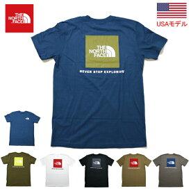 ノースフェイス Tシャツ レッドボックスT 定番THE NORTHFACE MENS S/S RED BOX TEE /ザ ノースフェイス 半袖T 2021年モデル USモデル アメリカモデル USA 品番 NF0A4763