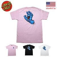 サンタクルーズTシャツスクリーミングハンドSANTACRUZ青い手半袖TシャツSCREAMINGHAND■品番4414698