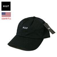 ハフローキャップストラップバックHUFORIGINALLOGOCURVEDBRIMHATLOWCAP帽子ベースボールキャップカーブキャップブリムハット■品番HT65504定番HUFロゴ■あす楽対応