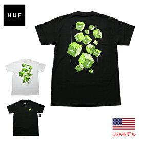 HUF ハフ Tシャツ S/S TEE HUF 3D BOX S/S TEE 半袖Tシャツ ティーシャツ メンズ ボックス トライアングル TT ■品番 TS01017