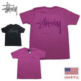 ステューシー レディース Tシャツ STUSSY STOCK TEE Tシャツ ウィメンズ ウィメン 半袖Tシャツ 女性サイズ ストックロゴ ベーシックロゴ■品番 STUSSY Tシャツ