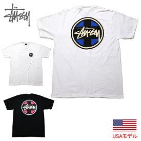 ステューシー Tシャツ STUSSY CROSS DOT S/S TEE 半袖Tシャツ ストックロゴ ドット柄 ■品番 1904540