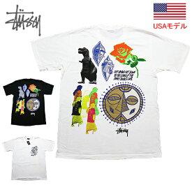 ステューシー Tシャツ STUSSY FUNKY TRIBE S/S TEE Tシャツ 半袖Tシャツ STUSSY ストックロゴ ■品番 1904620