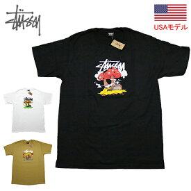 ステューシー Tシャツ 半袖T STUSSY SOMETHING'S COOKIN'S/S TEE USモデルTシャツ 半袖Tシャツ ■品番 1904657 送料無料